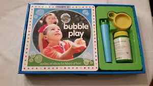 GYMBOREE BUBBLE PLAY SET- NEW IN BOX.  GREAT GIFT IDEA.
