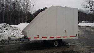 Tilt and Load Snowmobile Trailer For Sale