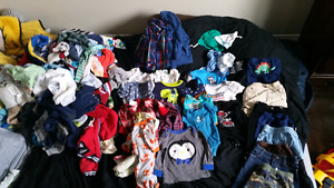 BOYS CLOTHING LOT 104 ITEMS