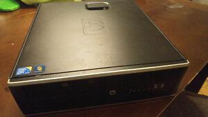 Ordi HP Intel Pentium G630 Windows 10 + Écran Dell 24po ACL