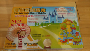 Electric intelligent brick for kids 2 boxes