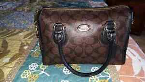 Coach Signature crossbody purse