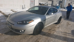 Safetied 2008 Hyundai Tiburon Manual NEGOTIABLE