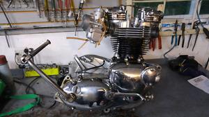 1972 Triumph Bonneville Motor - Fully rebuilt