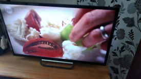 "32"" LED Slimline Sony with Built-in Freeview and HDMI"