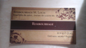 Rembourrage de meuble
