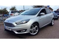 2017 Ford Focus 1.0 EcoBoost 125 Zetec 5dr Manual Petrol Hatchback