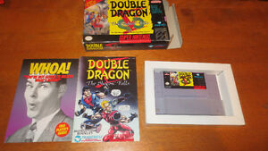 SNES Nintendo Game Double Dragon In box with manual