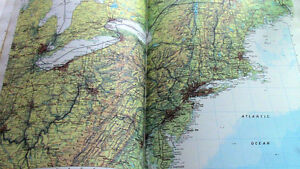 Reader's Digest, Atlas of the World, Rand McNally Maps Kitchener / Waterloo Kitchener Area image 2
