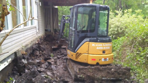 Excavation.landscaping.drainage