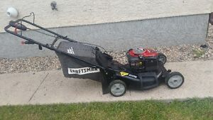 """21"""" Craftsman self propelled Lawmower with electric start"""