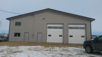 2014 Heated shop w/ office, loft, 2 bathrooms on 2 acres in town