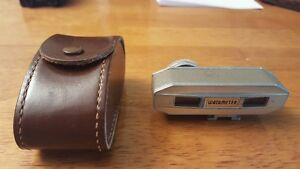 Watameter Vintage Rangefinder Super W with leather case Made in