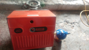 Riello burner with filter like new