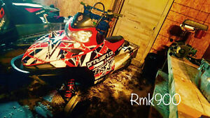 2006 rmk 900 + parts