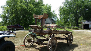 Buckboard Wagon Late 1800s Peterborough Peterborough Area image 1