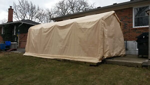 10X20 Car Shelter