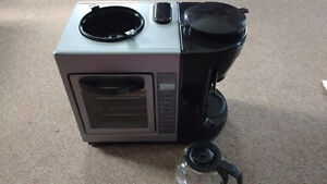 3 in 1 toaster oven coffee maker and egg cooker