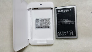 Samsung Note 3 Battery + Charging cradle $20