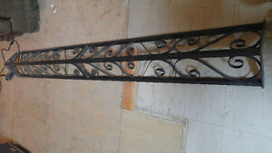 Corner support metal trellis London Ontario image 1