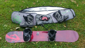 NEW PRICE - Snowboarding set - K2, Lamar, Bolle, Airwalk