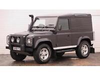 2006 Land Rover Defender 90 2006 56 Land Rover Defender 90 SWB 2.5TD Black Editi