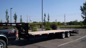 2009 Trail-Tech Gooseneck Flatdeck Trailer for sale