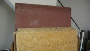 USE Good condition Particle board 0.65 in thick - free.