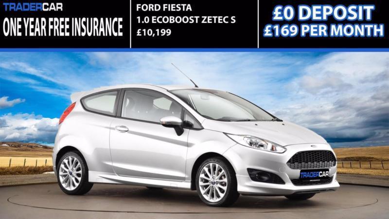 2015 Ford Fiesta 1.0 EcoBoost Zetec S - INSURANCE FREE!!!