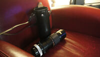 Canon Telephoto lens (manual,) with case, 100-200mm, No. 115192