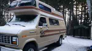 1985 Ford Camper Van Excellent Condition