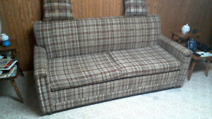Pull out sofa couch great for rec room