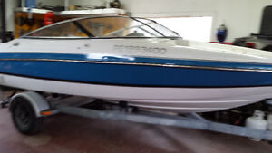 Chris-Craft 1996 18' bow rider 7000$ NEGO