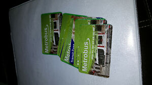 10 ride bus passes for sale for adult and child