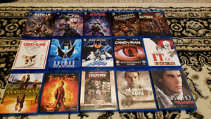 Blu-ray and DVD movie lot. Box sets, criterion, 4k uhd