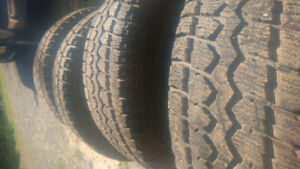 255/70/16, excellent condition. Used 1 winter. $600 obo.