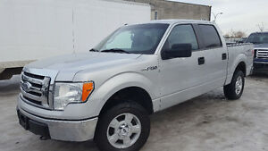 2009 Ford F-150 XLT 4X4 4.6 litre, impeccable crew cab
