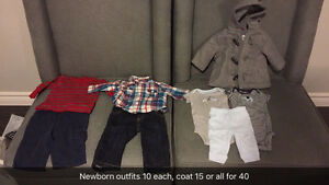 Boys/girls clothing newborn to 4T London Ontario image 3