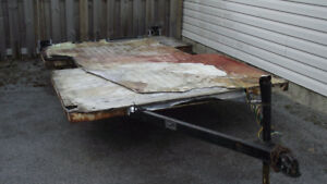 Former 6.5' x 10' Tent Trailer For Sale
