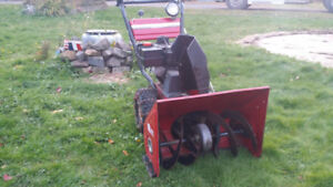 8HP 26 Snowblower made tough very reliable with electric start
