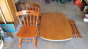 Dining Table and 3 Chairs (Waterloo)