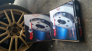 Brand New Wrx 2008-2014 Rotors Front
