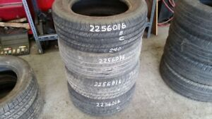 Set of 4 Michelin X Radial 225/60R16 tires (70% tread life)