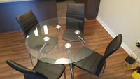 5 piece dining table set for sale, 400$