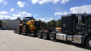 RGN LOWBOY FLOAT SERVICE: LOCAL/CANADA/USA
