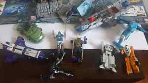 Huge lot of Transformers including rare vintage fig from 1980's