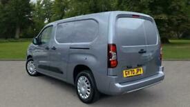 2020 Vauxhall Combo 1.5 Turbo D Sportive Crew Van (s/s) 4dr Combi Van Diesel Man