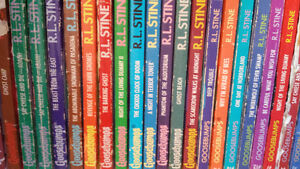 R.L. Stine books (Goosebumps & Fear Street)