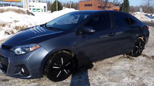 Reduced.  2015 Toyota Carolla S.  Located in Lappe