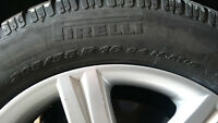 Genuine Audi rims and winter tires